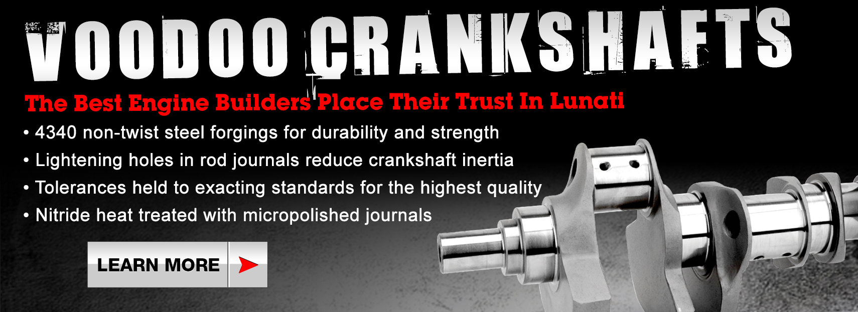 Voodoo Crankshafts